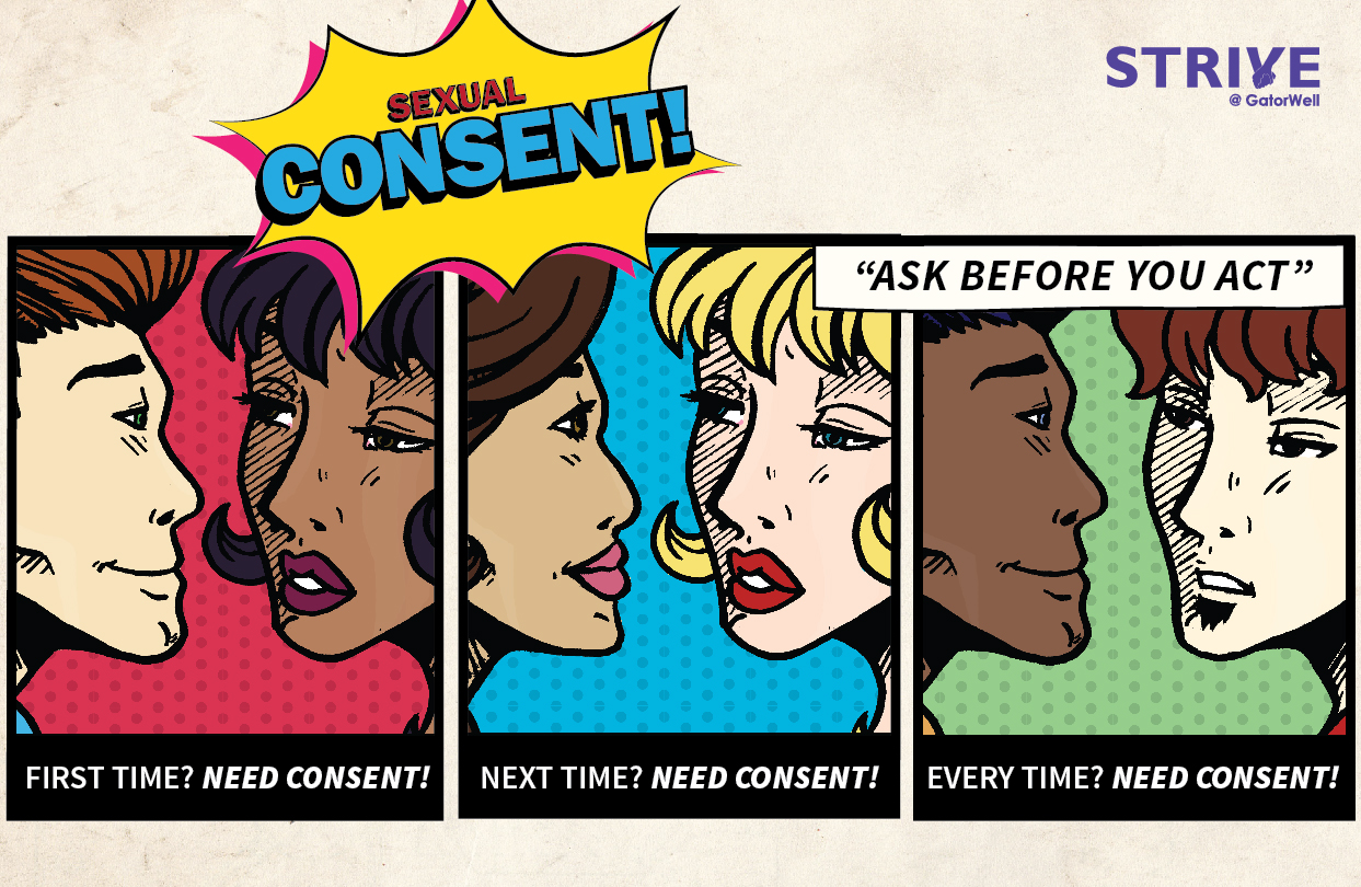 Sexual Consent Campaign | gatorwell.ufsa.ufl.edu